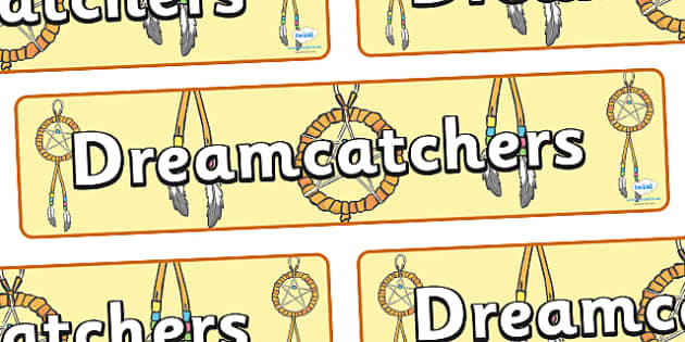 Dreamcatchers Display Banner - dreamcatchers, dream, dreaming, display, banner, sign, poster, dreamcatcher, dreams