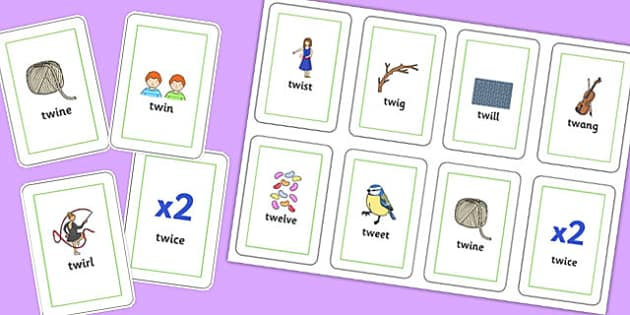 TW Playing Cards - sen, sound, special educational needs, tw, playing cards