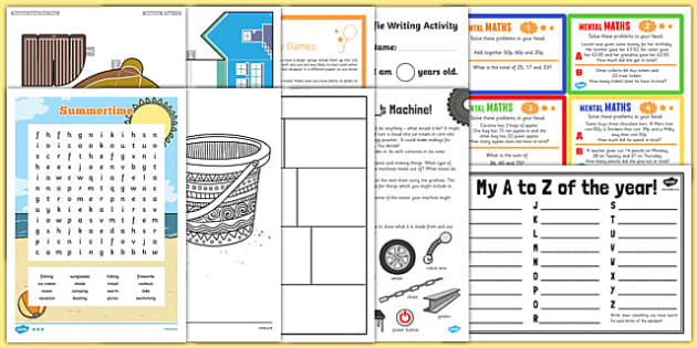 Top 10 KS2 End of Term Activity Pack