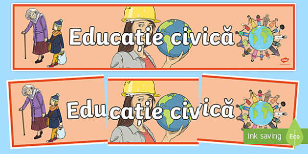 Educație civică CCD Romanian