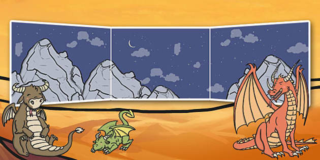 Dragon Small World Background - small world, background, dragon
