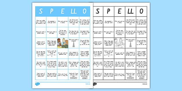 New Zealand Spelling Home Learning Tasks, homework, spellings, writing, reading