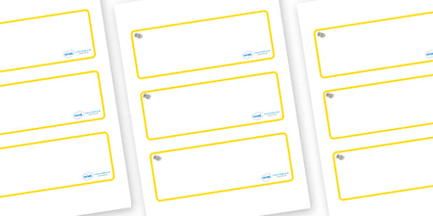 Daisy Themed Editable Drawer-Peg-Name Labels (Blank) - Themed Classroom Label Templates, Resource Labels, Name Labels, Editable Labels, Drawer Labels, Coat Peg Labels, Peg Label, KS1 Labels, Foundation Labels, Foundation Stage Labels, Teaching Labels