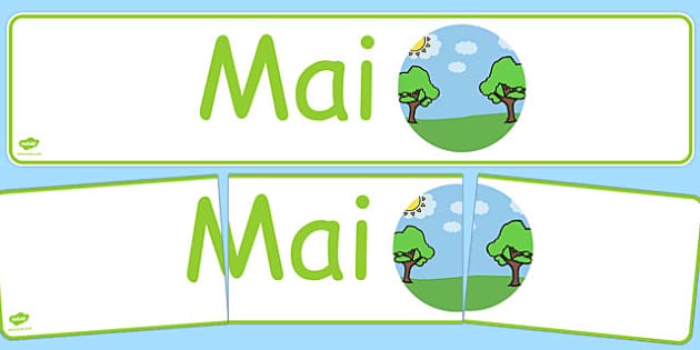 Mai Display Banner German - german, may, display banner, display, banner