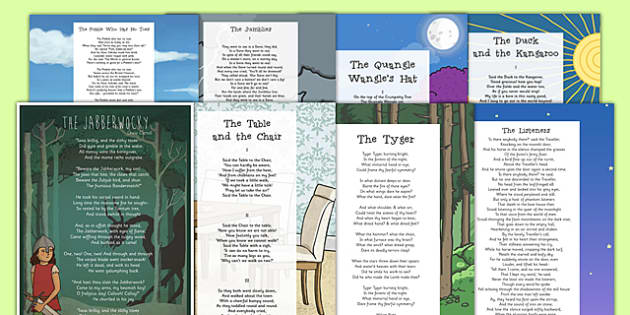 Bumper Poem Pack - bumper pack, poem, poems, poetry, key stage 2, ks2, pack