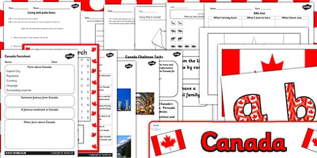 Canada Day Resource Pack - canada day, resource pack, pack, canada