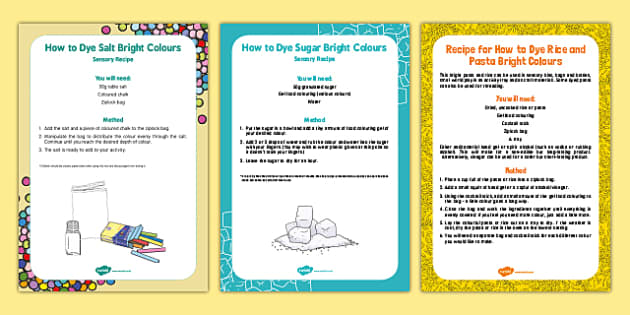 Colouring Edible Craft Materials Pack