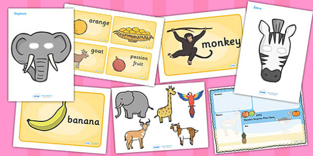 African Surprise EYFS Lesson Plan Ideas Resource Teaching Pack