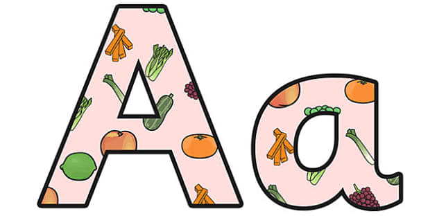 Growth and Nutrition Lowercase Display Lettering - growth and nutrition, growth and nutrition lettering, growth and nutrition display letters, ks2 science