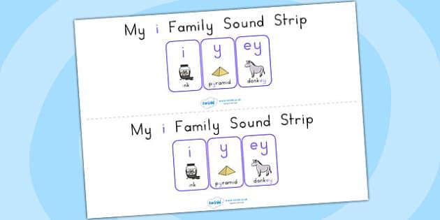 My i Family Sound Strip - sound, sound production, sound strip