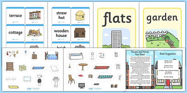 EYFS Houses and Homes Discovery Sack - house, home, EYFS, sack
