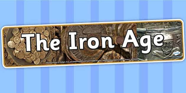 The Iron Age Photo Display Banner - the iron age, display, banner, display banner, display header, themed banner, photo banner, photo display, header