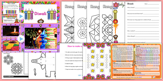 KS1 Diwali Teaching Resource Pack - diwali, resources, pack, ks1