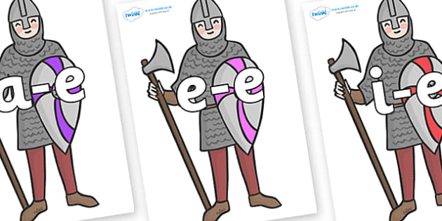 Modifying E Letters on Soldiers - Modifying E, letters, modify, Phase 5, Phase five, alternative spellings for phonemes, DfES letters and Sounds