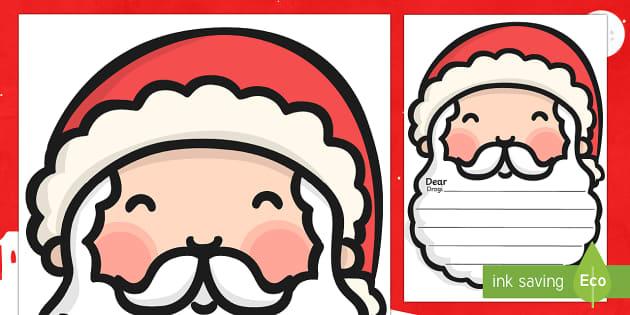 Letter To Santa Template English/Polish - Letter To Santa Template - writing,letter to santa, write your own letter to santa, wishlist, christ
