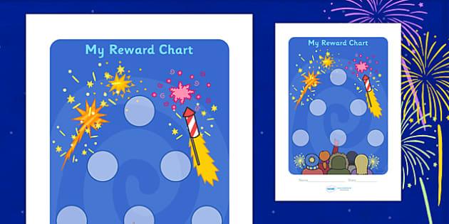 Bonfire Night Sticker Reward Chart (30mm) - Bonfire Night Sticker Reward Chart (30mm), Bonfire, reward chart, chart, reward, 30mm, 30 mm, stickers, twinkl stickers, award, certificate, well done, behaviour management, behaviour,  Bonfire, Fireworks N