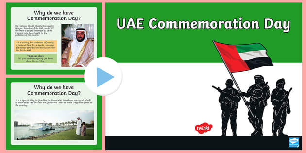 UAE Commemoration Day PowerPoint