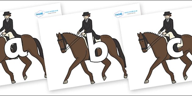 Phoneme Set on Equestrian (Horses) - Phoneme set, phonemes, phoneme, Letters and Sounds, DfES, display, Phase 1, Phase 2, Phase 3, Phase 5, Foundation, Literacy