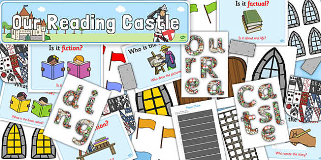 Our Reading Castle Display Pack - reading, castle, display pack, display