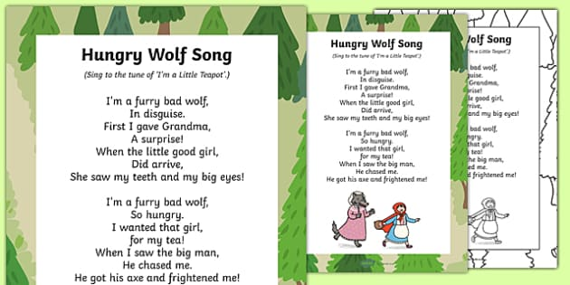 Hungry Wolf Song