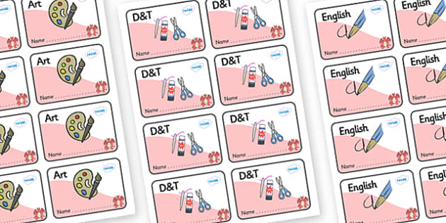 Dragon Themed Editable Book Labels - Themed Book label, label, subject labels, exercise book, workbook labels, textbook labels