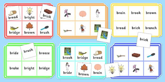 BR Bingo - br sound, bingo, game, activity, sound, br, sen, bingo game