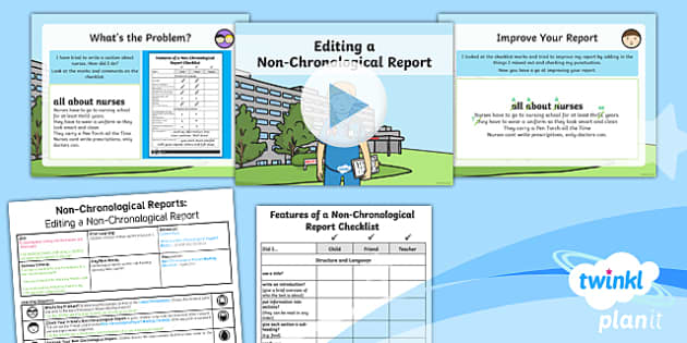PlanIt Y2 Significant Individuals: Florence Nightingale Lesson Pack  Non-Chronological Reports (3)