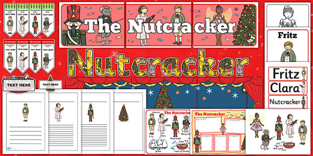 The Nutcracker Story Sack - nutcracker, story, sack, resources
