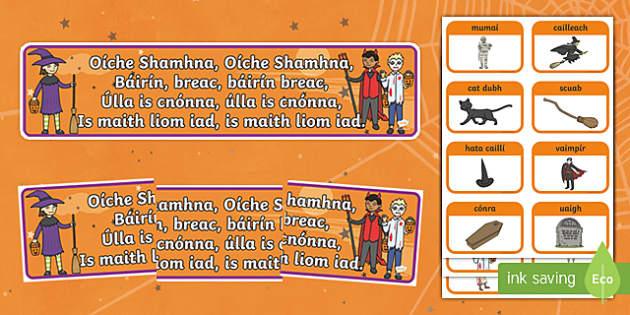 Oíche Shamhna Display Pack Gaeilge