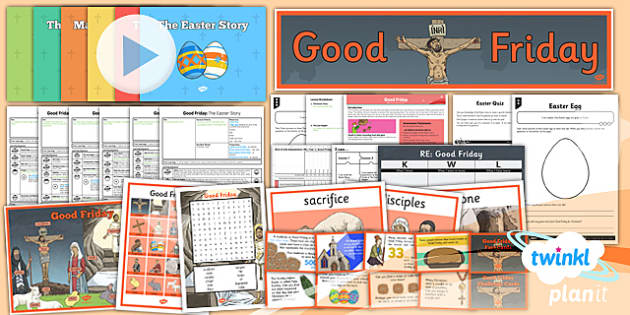 PlanIt - RE Year 3 - Good Friday Unit Pack - cross, resurrection, crucifixion, Jesus, love