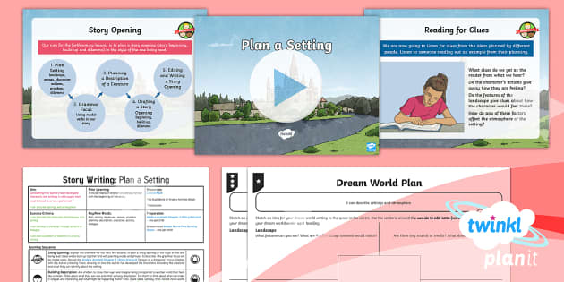 PlanIt Y6 Explorers: Dreams and Anders Arnfield Lesson Pack Story Writing (1) - anders arnfield, ebook, fiction, ks2, story, writing, literacy, english, lesson plan, planning, plan