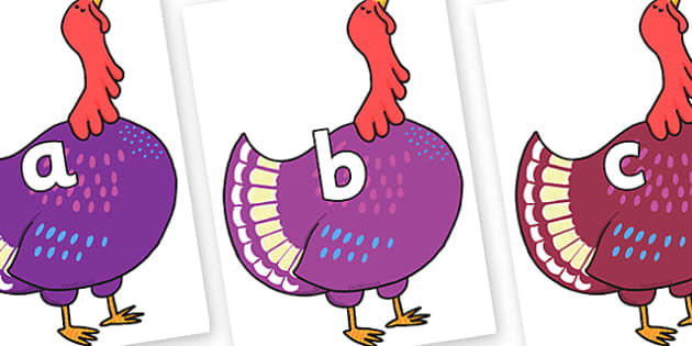 Phase 2 Phonemes on Hullabaloo Turkey to Support Teaching on Farmyard Hullabaloo - Phonemes, phoneme, Phase 2, Phase two, Foundation, Literacy, Letters and Sounds, DfES, display
