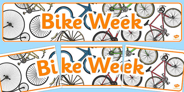 Bike Week Display Banner - bike, week, display banner, display
