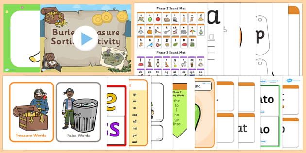 Phase 2 Resource Pack - phase 2, phase two, resource pack, resources, phase 2 resources, phase 2 activities, actvities, word cards, display poster, words