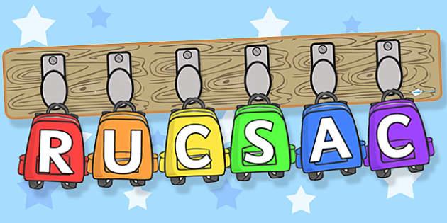 RUCSAC Pegs and Rucksacks Display Pack - RUCSAC, rucksacks, display, display pack, resource pack, RUCSAC pack, rucksack pack, pegs and rucksacks