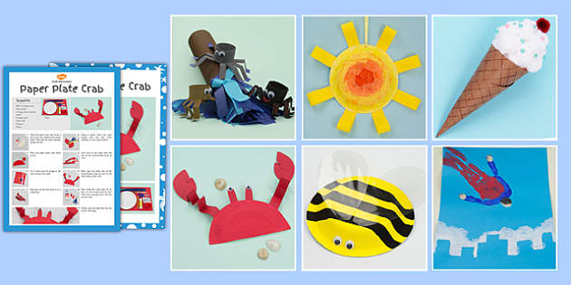 Summer Holiday Craft Activity Pack - summer, holiday, craft