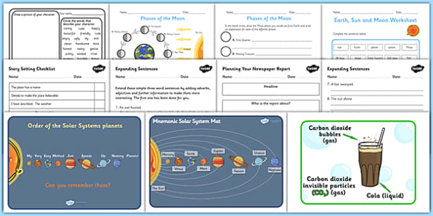KS2 Space Lesson Plan Ideas and Resources Pack - lesson plan