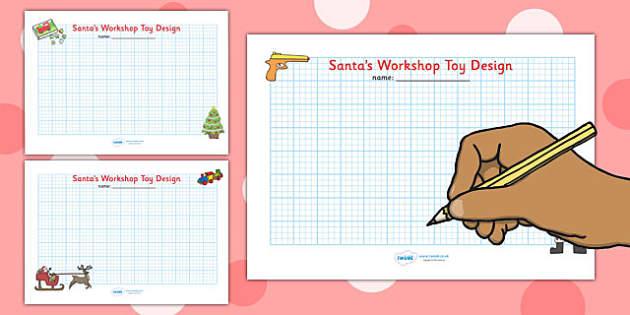 Christmas Themed Toy Design Sheets - christmas, design, art