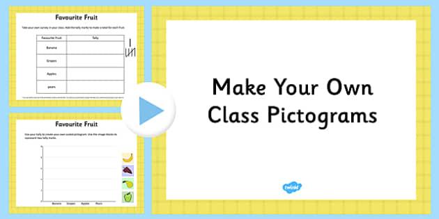 Make Your Own Pictograms Editable Presentation - make, pictograms, editable, presentation, powerpoint