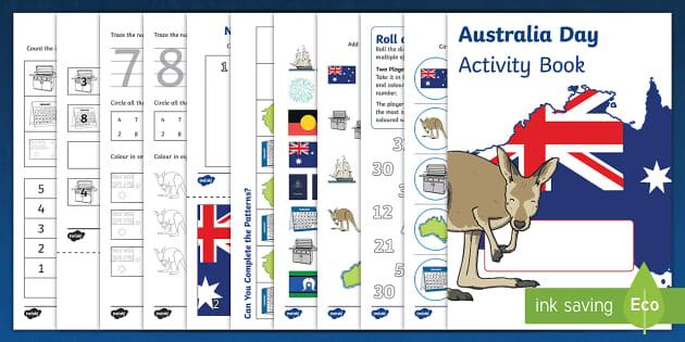 Australia Day Activity Booklet - australia, activity, booklet
