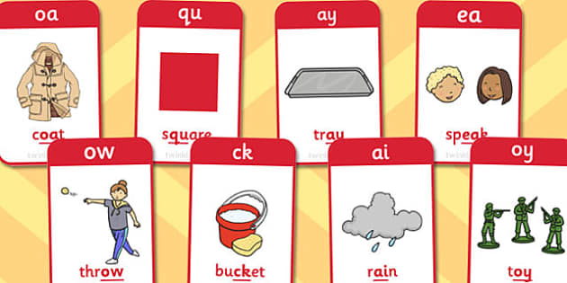 Active Literacy Phonics Programme Stage 2 Flashcards - flashcards