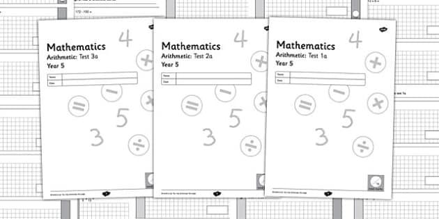Year 5 Arithmetic Half Tests - year 5, arithmetic, half tests