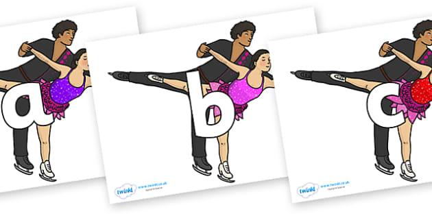 Phoneme Set on Figure Skating - Phoneme set, phonemes, phoneme, Letters and Sounds, DfES, display, Phase 1, Phase 2, Phase 3, Phase 5, Foundation, Literacy