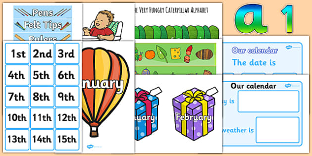 Top 10 Early Years Teaching Assistant Classroom Set Up Resource Pack