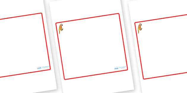 Parrot Themed Editable Classroom Area Display Sign - Themed Classroom Area Signs, KS1, Banner, Foundation Stage Area Signs, Classroom labels, Area labels, Area Signs, Classroom Areas, Poster, Display, Areas