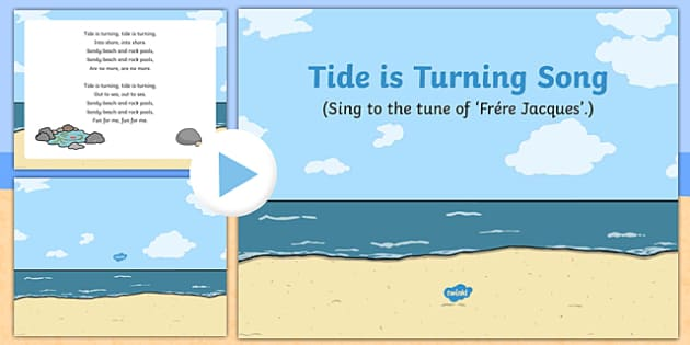 Tide Is Turning Song PowerPoint