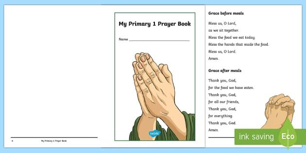 My Primary 1 Prayer Book - CfE, Catholic, Christianity, prayers, mass responses ,Scottish