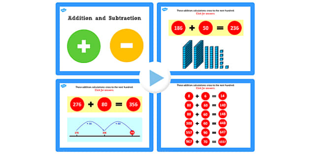 Y3 Addition and Subtraction Lesson 1d Adding Tens Crossing 100