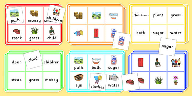 Year 2 Common Exception Words Bingo - year 2, common exception words, bingo, activity, high, frequency, reading
