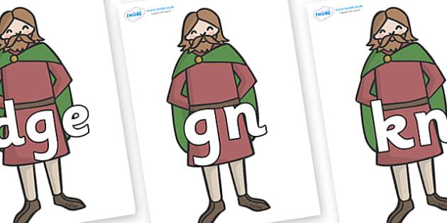 Silent Letters on Britons - Silent Letters, silent letter, letter blend, consonant, consonants, digraph, trigraph, A-Z letters, literacy, alphabet, letters, alternative sounds